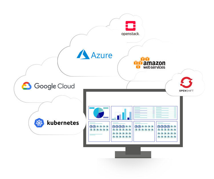 Cloud Infrastructure Platforms integrated in the meshcloud platform